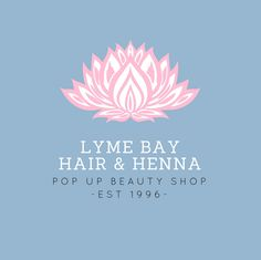 Lyme Bay Hair & Henna Lyme Bay, We Can Do It, Beauty Shop, Pop Up, Henna, Logo Design, Diy Crafts, Logos, Hair