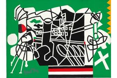Stuart Davis (1892-1964), Ways & Means. Oil on canvas, 24 x 32 in. (61 x 81.3 cm.). Painted in 1960