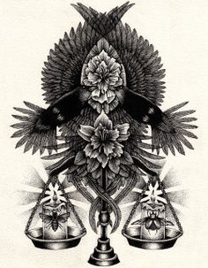Annita Maslov is a tattoo artist and Illustrator based in Melbourne with a naturalistic gothic approach to her work. When she isn& illustrating,. Ink Illustrations, Illustration Art, Libra Tattoo, Symbolic Tattoos, Tattoo Sketches, Tattoo Studio, Tattoo Inspiration, Tattoo Artists, Art Drawings