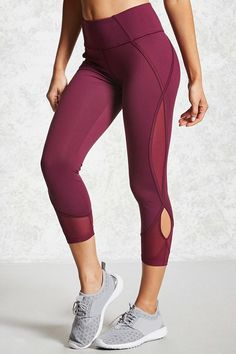 Active Cutout Leggings - Women - Activewear - 2000143734 - Forever 21 Canada English