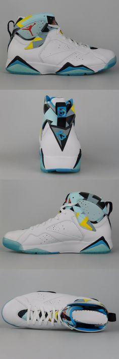 Basketball: Nike Air Jordan 7 Retro N7 Size 13 New Mens Bordeaux Hare Shoes 744804 144 -> BUY IT NOW ONLY: $204.56 on eBay!