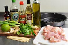 Thai Chicken Ingredients