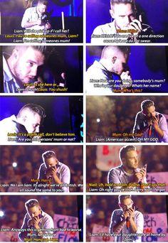 Liam, he's so beautiful