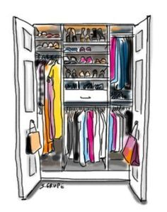 Die Kleiderschrank-Inventur: In 5 Schritten zum perfekt organisierten Kleiderschrank.