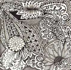 ZenTangle penwork by kristin found at  http://indulgy.com/post/7ZGaHVCME1/zentangle#