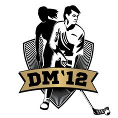 Logo for the floorball DM final // By Underdogs Reklamebureau Darth Vader, Logos, Fictional Characters, Logo, Fantasy Characters