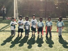 Some young flag football studs rocking the RockSolid RS1 head protection!  www.liverocksolid.com