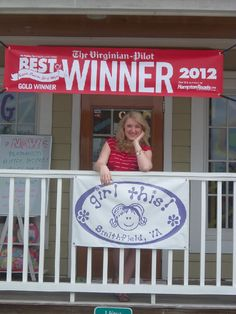 Second year in a row that girl this! was a BEST OF Hampton Roads winner!