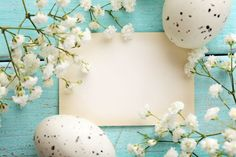 Photo about Easter greeting card with eggs and spring flowers. Image of greeting, card, spring - 37258204 Easter Greeting Cards, Easter Card, About Easter, Easter Pictures, Frame Background, Picture Collection, Flower Frame, Spring Flowers, Beautiful Images