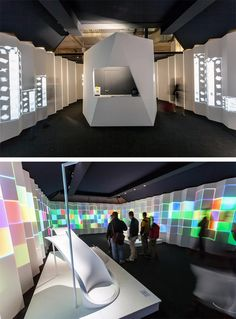 Exhibition Installation @ Fuori Salone •Stand Design: Marco Piva •Stand Build: Xilos Temporary Architecture