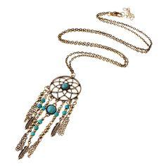Halskette mit Traumfänger-Anhänger Dreamcatcher | eBay