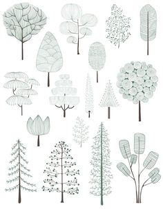 Architectural Drawing Patterns Illustration of pine trees collection Free Vector Sketchbook Architecture, Poster Architecture, Perspective Architecture, Texture Architecture, Architecture Design Concept, Architecture Graphics, Modern Architecture, Landscape Architecture Drawing, Architecture Visualization