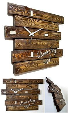 Easily made this wood pallet clock project is easy on eye. This ingenious ideas for wooden pallet reusing that will amaze you and you can copy them to amaze others. So engage yourself in this activity in your leisure time.