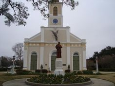 St. Martin de  Tours, Mother Church of the Acadians, St. Martinville
