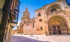 Cuatro+pueblos+bonitos+de+Soria+para+enlazar+en+una+escapada+en+coche Barcelona Cathedral, Building, Travel, Madrid, Poisons, Spain Tourism, Natural Playgrounds, Viajes, Buildings