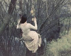 pretty place for a swing. The Enchanted Storybook Story Inspiration, Character Inspiration, Wedding Inspiration, Dark Forest, Romanticism, The Girl Who, Life Is Beautiful, Beautiful Things, Ethereal