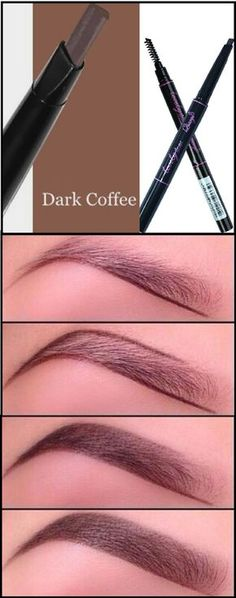 Only $8.99 + Free Shipping in the US. Dark Coffee Eyebrow Pencil & Brush Set - Essential Makeup Tools. Buy yours today at sale price from www.FamilyDeals.store
