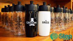 Termos personalizados 500ml. bride groom. Keep calm