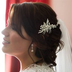 Black Friday Sale! All the Online Jewelry & Accessories 50%off! Thursday, Friday & Saturday 3 days Only - Karmabridal.com - Your Safe and Easy Online Bridal Boutique! Hair Comb Wedding, Wedding Hair Pieces, Bridal Hair, Bridal Boutique, Wedding Hairstyles, Nice Dresses, Evening Dresses, Thursday Friday, Trending Outfits
