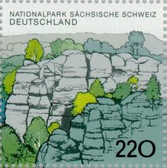 Stamp%3A%20Saxon%20Switzerland%20National%20Park%20(Germany%2C%20Federal%20Republic)%20(Saxon%20Switzerland%20National%20Park)%20Mi%3ADE%201998%2CSn%3ADE%202009c%2CYt%3ADE%201830%2CAFA%3ADE%202939%20%23colnect%20%23collection%20%23stamps
