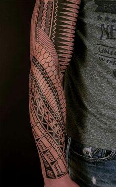 Check which tattoo suits you best. Tribal Tattoos For Men, Tribal Sleeve Tattoos, Tattoos For Guys, Samoan Tattoo, Arm Tattoo, Body Art Tattoos, Maori Tattoos, Tattos, Maori Patterns