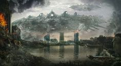 Invasion by Henry Ledesma | Matte Painting | 2D | CGSociety