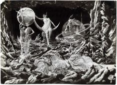 Trip to the moon by Georges Melies