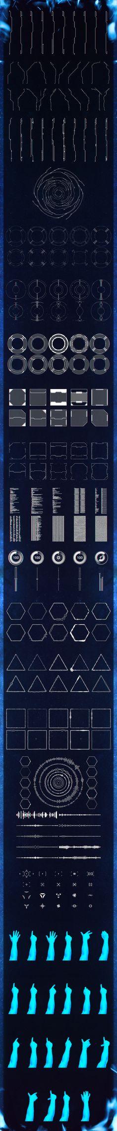 Eclipse V3 HUD Elements on Behance