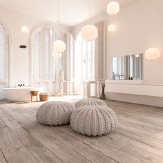 Bathroom Inspiration - we bring you bright ideas for how to design your living room, bedroom, bathroom and every other room in your house. Decor, Interior Inspiration, Interior Design, Home Decor, House Interior, Room, Scandinavian Bathroom Design Ideas, Bathroom Design, Home Deco