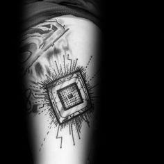Computer Chip, Best Computer, Computer Engineering, Computer Science, Slimming World, Computer Tattoo, Chip Tattoo, Circuit Tattoo, Tech Tattoo
