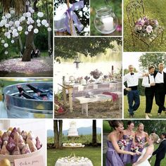 It's Spring time - Planning a Simple Garden Wedding - Pink and lilac with vintage touches