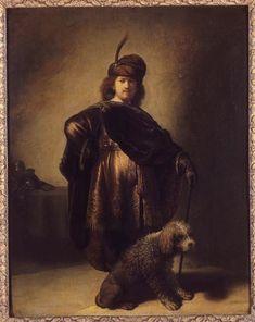 Portrait de l'artiste en costume oriental,1631    Rembrandt Harmensz van Rijn (1606-1669)