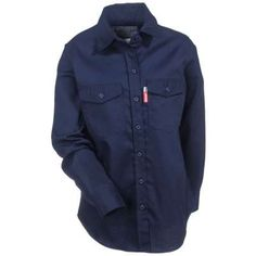 4d56e2ab1d43 Benchmark Shirts  Women s 1026FR NVY Navy Really Nice 2.0 Flame Resistant  Shirt