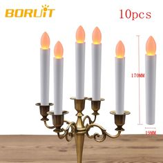 How to Original Price US $12.66 Sale Price US $10.89 10Pcs Warm White Electronic Flameless LED Candles Light Birthday Wedding Fixtures New Year Christmas Tree Decoration For Home to boost your business #Candles#Holders