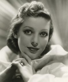 The beautiful, Loretta Young