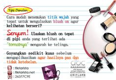 Tips pemakaian blush on