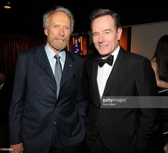 Clint Eastwood and Bryan Cranston attend the 68th Annual Tony Awards at Radio City Music Hall on June 8, 2014 in New York City.