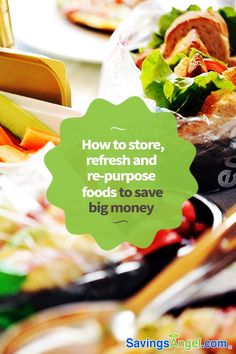 When food items have gone stale or limp, we tend to just throw them away. Stop loss by knowing how to store, refresh and re-purpose foods to save big money. Best Money Saving Tips, Money Tips, Saving Money, Big Money, Make More Money, Earn Money, Frugal Living Tips, Food Safety, Menu Planning