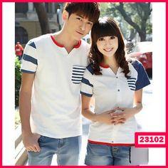 "Baju Couple Kimono Pocket KODE : 23102  Harga : 75.000  Size :  – Co (L) P=67cm LD=50cm – Ce (M) P=63cm LD=41cm  Bahan : Cotton Combed ====================  yukk order dengan sms ke 08999-89-59-39 atau add bbm kami di 26C8CC65 ""DICARI RESELLER DAN DISTRIBUTOR DI INDONESIA"""