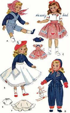 Doll Clothes Pattern ORIGINAL 1720 for 18 inch Sweet Sue by American Character