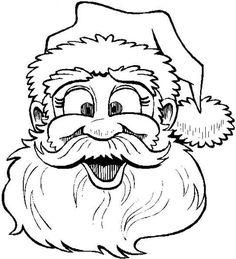62 mikulás sablon6 - pagi decoplage | Рождественский декор | malvorlagen weihnachten