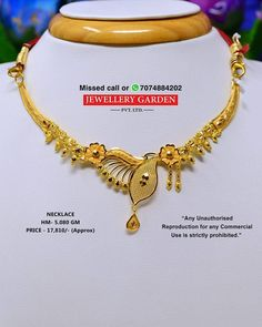 Jwl Gold Necklace Simple, Gold Jewelry Simple, Gold Bangles Design, Gold Jewellery Design, Nose Ring Jewelry, Gold Mangalsutra Designs, Gold Accessories, Necklace Designs, Nightgown