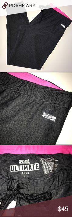 PINK Ultimate Yoga Legging Victoria's Secret PINK Ultimate Yoga Legging. Sexy, soft, and comfy. Great for gym or lounging. Very good condition. PINK Victoria's Secret Pants Leggings