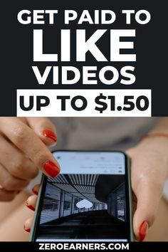 Have you ever imagine you'll get paid to like videos? No? Here are some of the best ways to get paid to like videos. #gpt #getpaidtolikevideos #likevideos #makemoneyonline #parttimejobs #workfromhome #sidehustles #extramoney