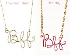 doing this but with my name. always felt left out as a kid because there were no acacia necklaces!