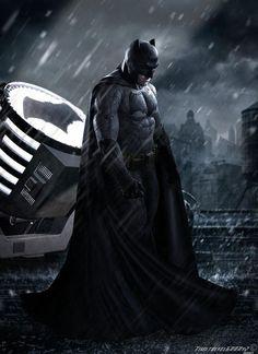Em 2016 Ben Affleck usa este look pra enfrentar o Supermen. De qual você gosta mais? E agora...