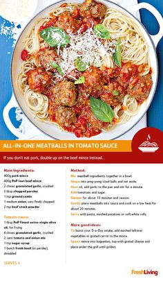 What do you call a cow with no legs? It's great as a joke, but is even better in these mouth-watering meatballs! Mince Recipes, Cooking Recipes, Healthy Recipes, Best Lasagna Recipe, Bolognese Recipe, South African Recipes, Quick Meals, Pasta Dishes, Food Network Recipes
