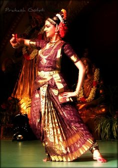Kuchipudi (తెలుగు : కూచిపూడి) (pronounced as 'Koochipoodi') is a Classical Indian dance form from Andhra Pradesh, India. It is also popular all over South India. Kuchipudi is the name of a village in the Divi Taluka of Krishna district that borders the Bay of Bengal and with resident Brahmins practicing this traditional dance form, it acquired the present name.