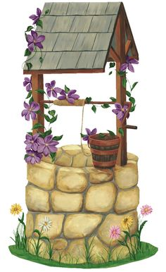 Wishing Well Clipart On Pinterest
