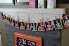 Project Nursery - 1st Birthday Month-by-Month Picture Timeline